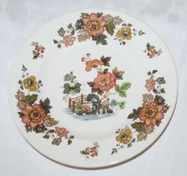 Gebaksbord (17,7 cm.) Eastern Flowers - Wedgwood