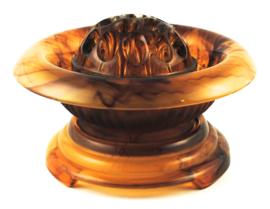 3-Delige Set no 1910 Amber (17,5 cm.) - George Davidson & Co