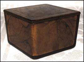Cigarette Box No 2 Amber - George Davidson & Co