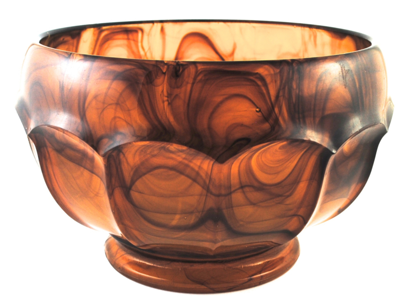 Cache-pot no 699 Amber (24,5 cm.) - George Davidson & Co