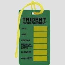 Trident Nitrox-label