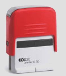 Logboek stempel Colop printer C20