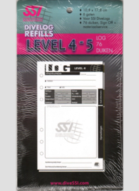 SSI DiveLog Refills level 4-5