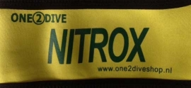 Nitrox band 10 liter fles