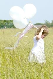 Ballonnen wit 6 stuks