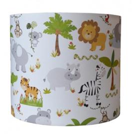 Wandlamp Jungle dieren