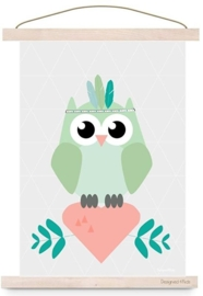 Poster Indian owl
