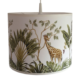 Kinderlamp Jungle Olifant en Giraf