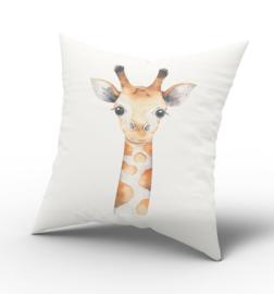 Kussen Aquarel Giraf