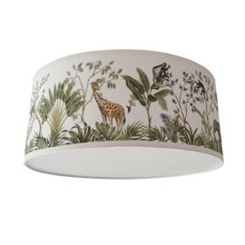 Kinderlamp plafond Jungle Giraf en Olifant