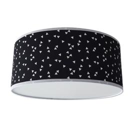 Plafondlamp triangel zwart