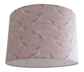 Lampenkap Unicorn roze