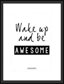 Poster Wake up