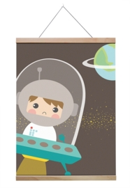 Poster Astronaut A4