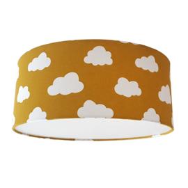 Plafondlamp wolken oker