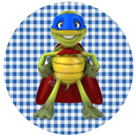 Muursticker Turtle