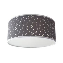 Plafondlamp Triangle grijs