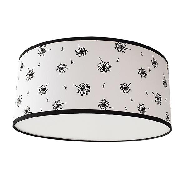 Plafondlamp paardebloem wit
