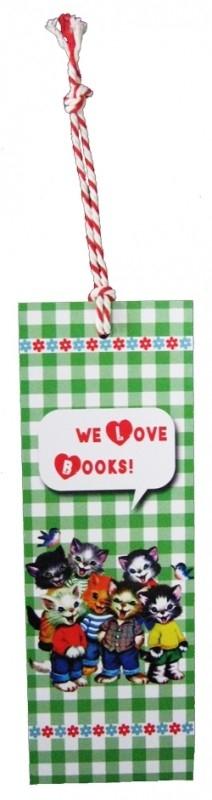 Boekenlegger we love books