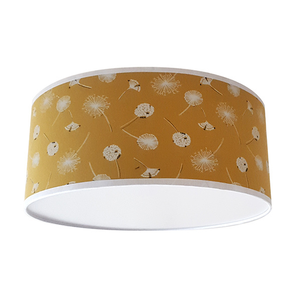 Plafondlamp Paardenbloem oker