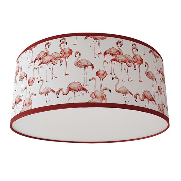 Plafond kinderlamp Flamingo's