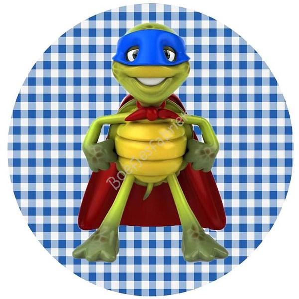 Muursticker Turtle