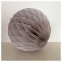 Honeycomb ball grijs M