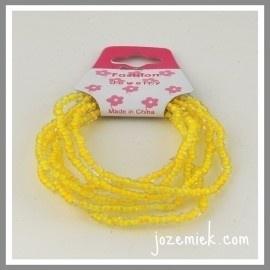 Armband Mix & Match Jozemiek geel