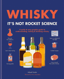 Mickaël Guidot: Whisky: It's Not Rocket Science -  A quick & easy graphic guide to understanding, tasting & drinking whisky