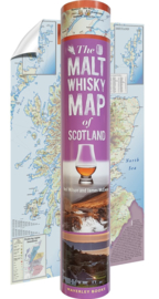 The Malt Whisky Map of Scotland 2019