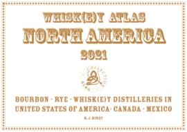 Atlas  maps Whisk(e)y Distilleries North America, Canada en Mexico