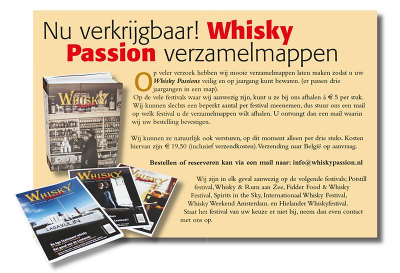 Whisky Passion Verzamelmappen 3 stuks