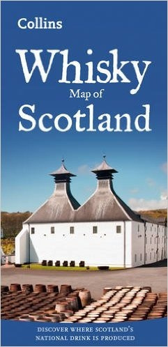 Collins: Whisky map of Scotland