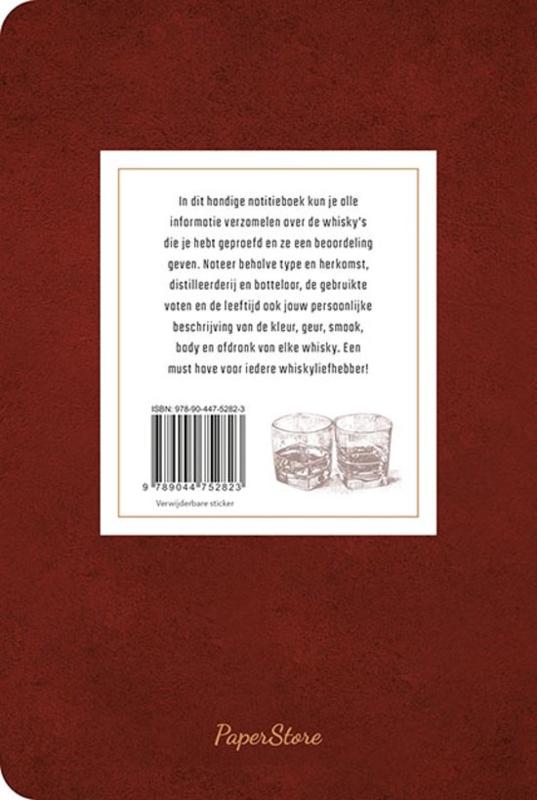 Notitieboek - Mijn favoriete whisky's