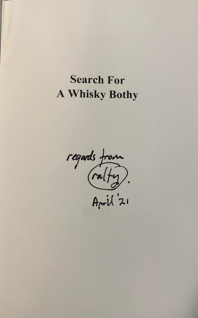Ralfy Mitchell: Search for a Whisky Bothie