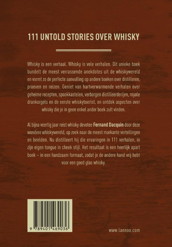 Fernand Dacquin: Het Whisky Boek
