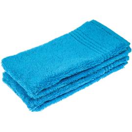 2 stuks gastendoek blauw 30x50 cm