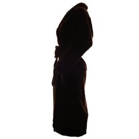 Bamboe badjas, zwart