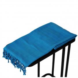 Hamamdoek Blauw 200x90