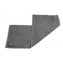 2 stuks gastendoeken grijs 30x70 cm