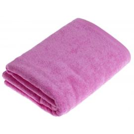 Saunahanddoek roze 90x200 cm