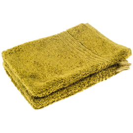Washand groen 21 x 16 cm - 4 stuks - restant voorraad locatie