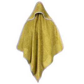 Baby bamboe handdoek met capuchon - groen