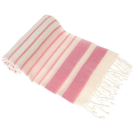Hamamdoek, Aquatreeps - Roze, 190x90 cm