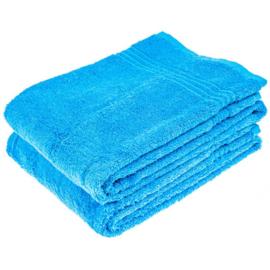 Saunahanddoek blauw 70x200 cm