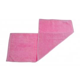 Gastendoek roze 30x70 cm