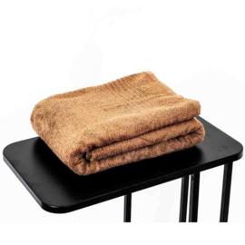 Saunahanddoek bruin 90x200 cm