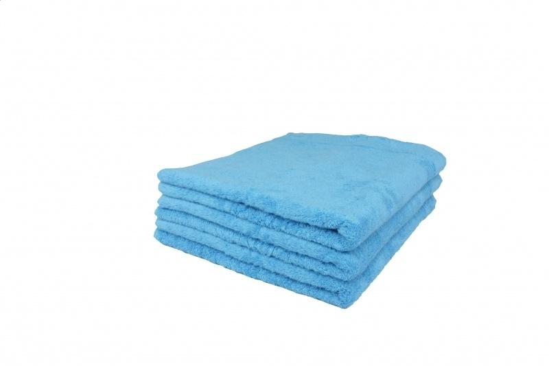 Badhanddoek blauw 70x140 cm