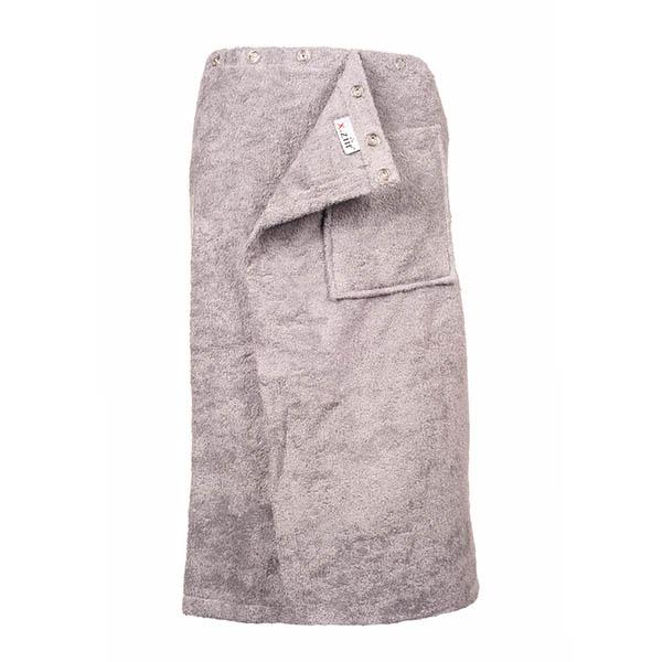 Saunakilt 180x65, grijs