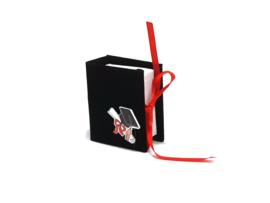 """Geschenkverpakking """"Boek geslaagd zwart"""""""